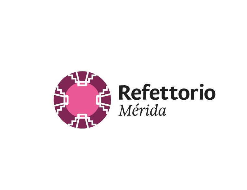 Logo Refettorio Merida Color